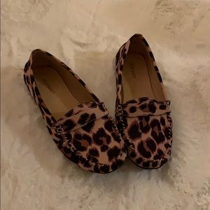 Cheetah print old navy flats
